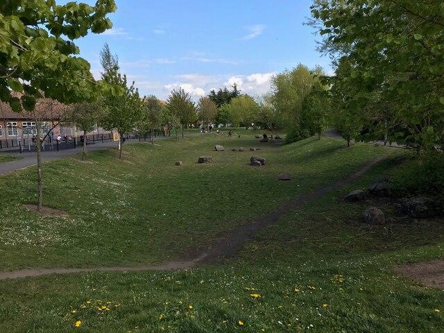 Neighbourhood sustainable drainage storage pond