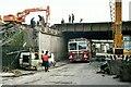 SU7173 : Renewal of Vastern Road railway bridge – 1975 – 2 by Alan Murray-Rust