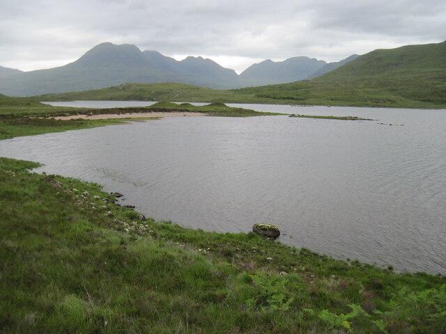 Western shore Loch Damh