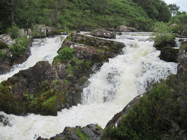 Falls of Balgy from west bank