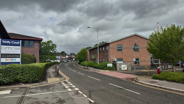 Industrial area on Molly Millars Lane