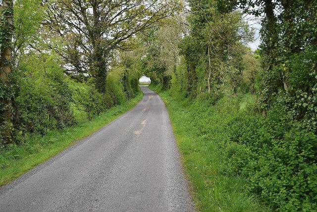 A narrow road at Syonfin