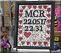 SJ8498 : Mosaic memorial for 22 by Gerald England