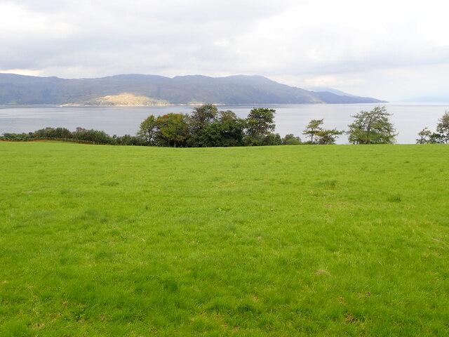 View to Morvern across Craignure Bay