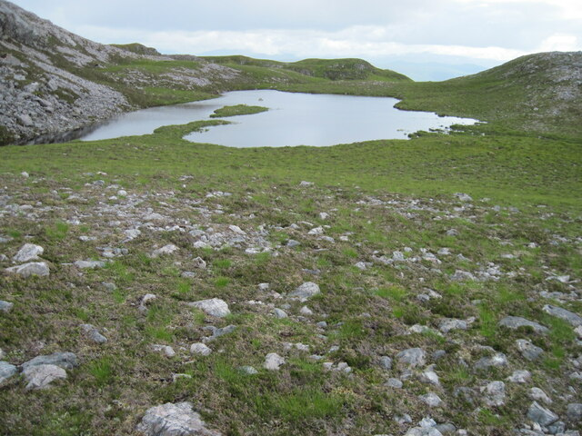 Lochan near Loch a' Mhuilinn