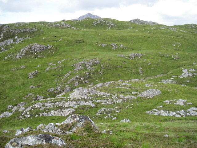 From Tòrr na h-Iolaire towards An Ruadh-Stac
