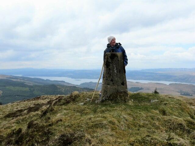 Trig pillar on Cruach nan Capull
