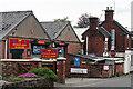 SJ9541 : BMF & Crossways Garage, Blythe Bridge by Stephen McKay
