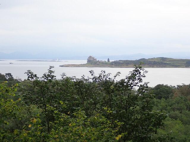 View to Duart Castle