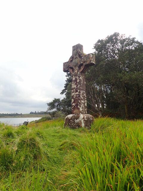 Memorial cross for Olive Guthrie