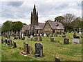 SD8918 : Whitworth Cemetery Chapels by David Dixon