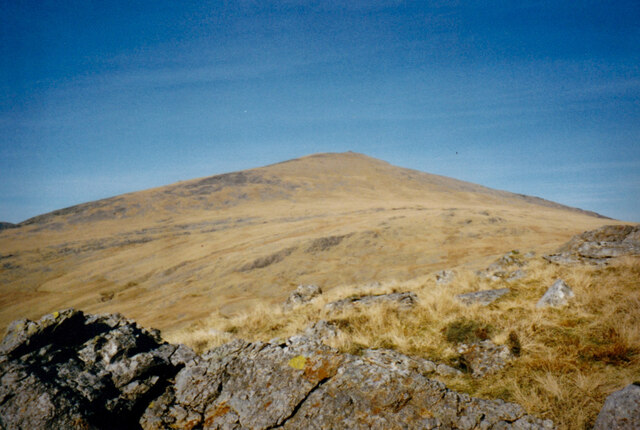 The southern slopes of Y Garn