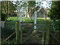ST7179 : Two gates before St Peter by Neil Owen
