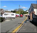 SN7810 : NNW along Derwen Road, Ystradgynlais by Jaggery