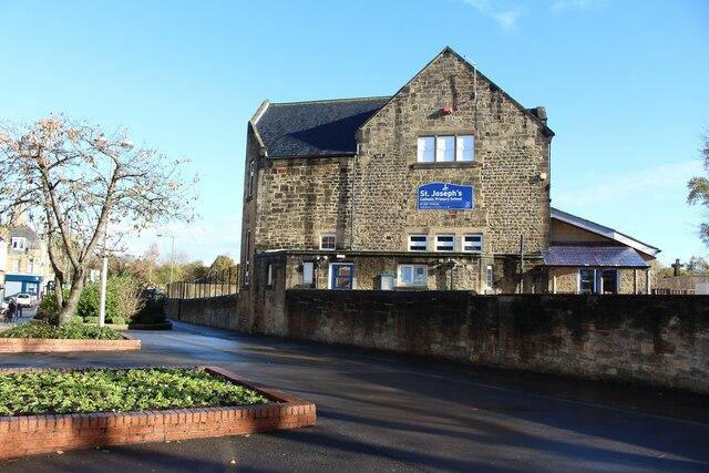 St Joseph's Primary School, Front Street, Stanley