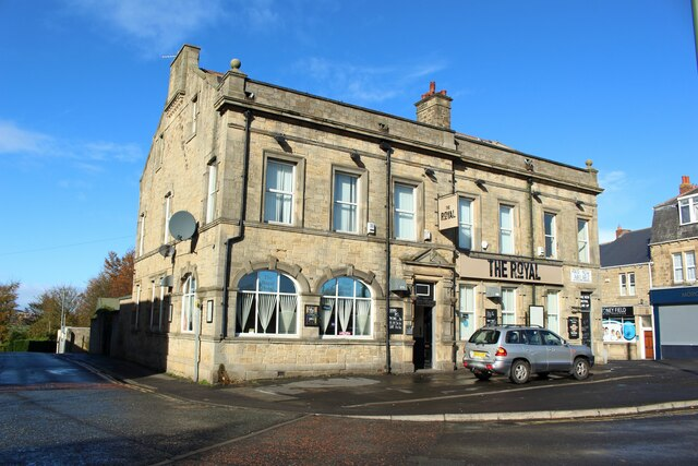 The Royal Hotel, Front Street, Stanley
