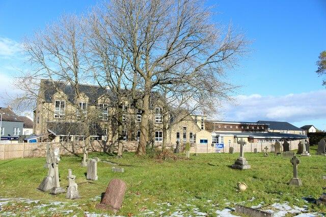 Churchyard of St Joseph's Church, Stanley