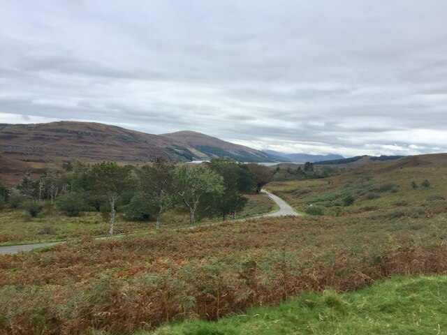 The road to Dervaig