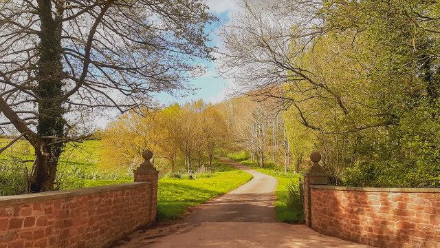Driveway to Haygrove House