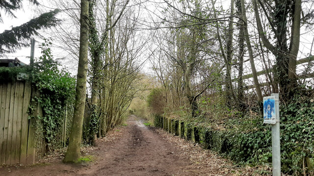 Town and country path
