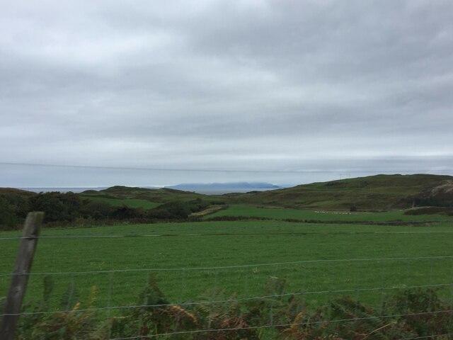 Looking west towards Calgary Bay