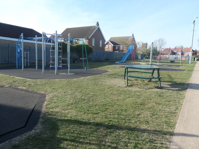 Play area south of the High Street, Market Weighton