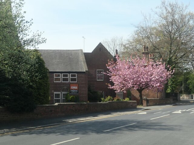 Blossom time at Grove Hall, Wakefield