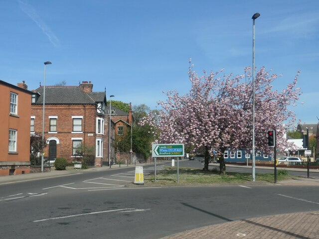 Blossom time on Northgate, Wakefield
