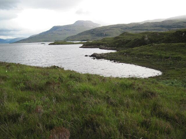 Loch Maree shore near Ploc Aird na h-Eibhe