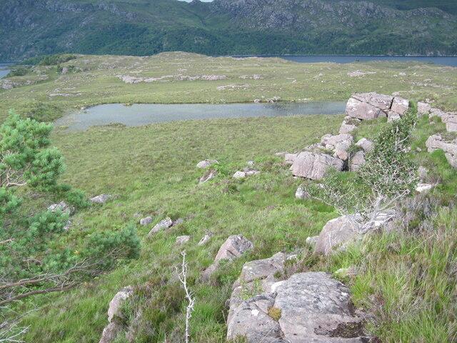 Lochan near Creag Ghiuthais