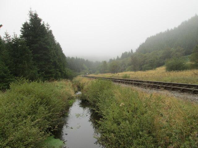 Railway through Newtondale