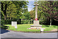 SD8009 : Cross of Sacrifice, Bury Cemetery by David Dixon