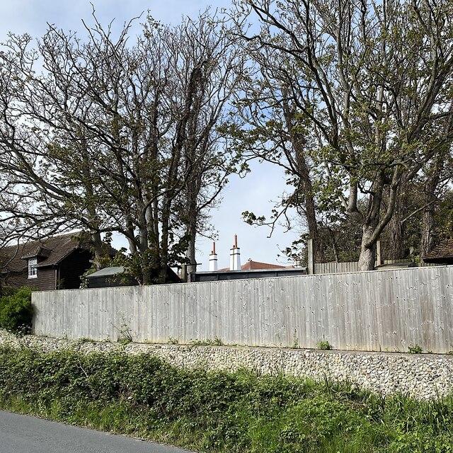 Chimneys of Easemore House, Homefield Road, Seaford