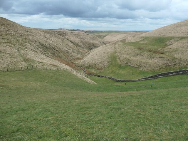 The valley of Readycon Dean Brook