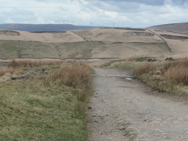 Pennine Bridleway near Rooden Cottage