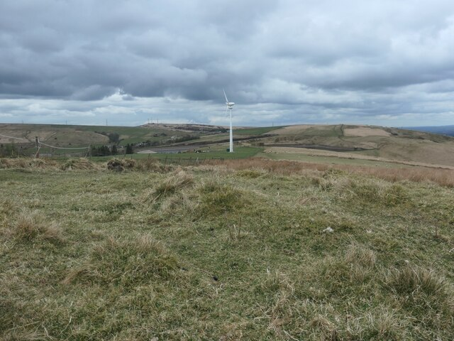 Open access moorland, north of Rooden Cottage