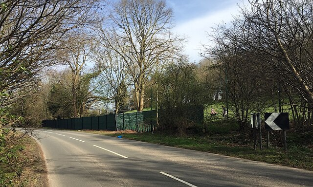 HS2 enabling works, Dalehouse Lane, Kenilworth (2)