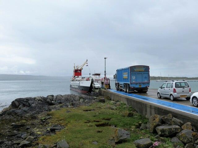 Ferry terminal, Isle of Gigha