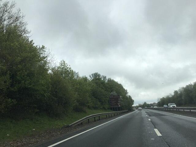 A14 - Eastbound