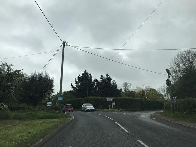 Junction in Stonham Aspal