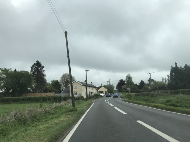Junction on A1120