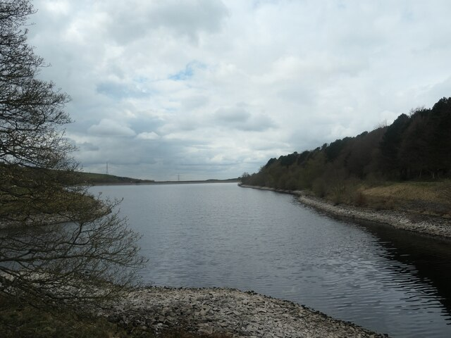 Piethorne reservoir, from the east