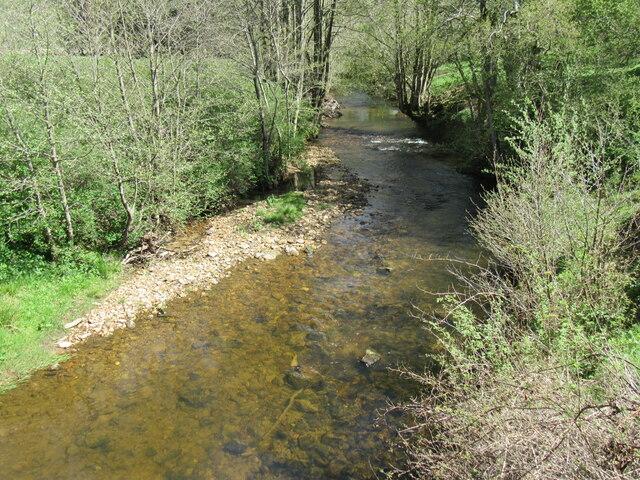 River Rye at Hawnby Bridge