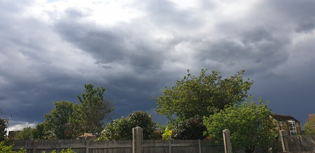 Stormy Sky over Palmers Green, London N13