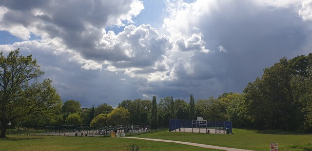 Approaching Storm, Oakwood Park