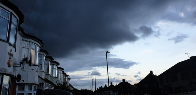 Approaching Storm in Palmers Green