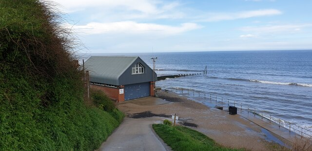 Mundesley Beach near Lifeboat Station