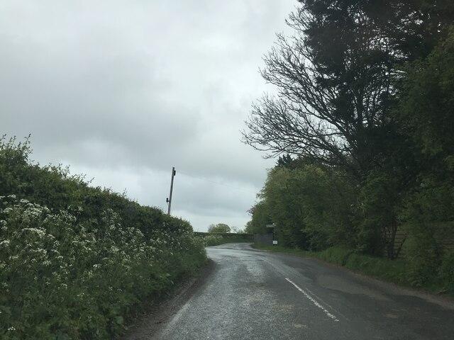 Junction near Tannington