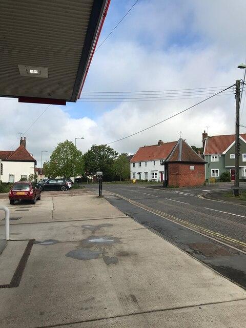 View from Filling Station in Framlingham