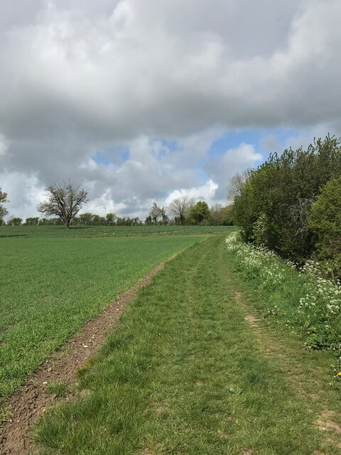 Yoxford footpath
